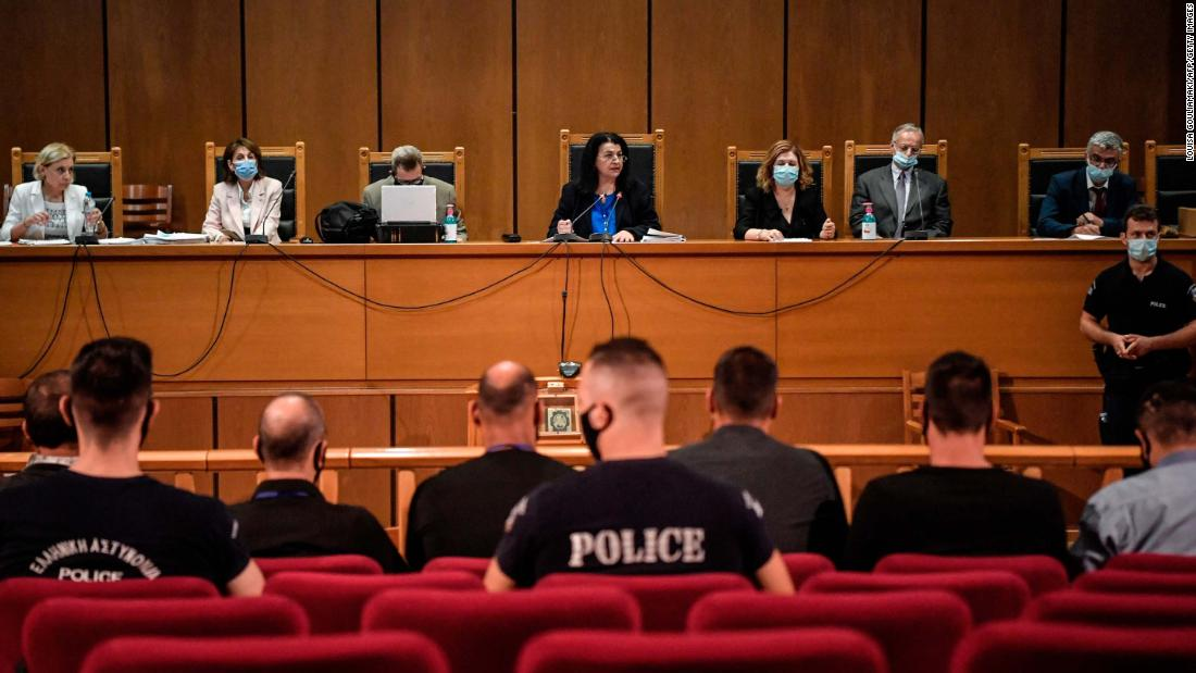 Golden Dawn: Greek court imposes jail terms on far-right leaders